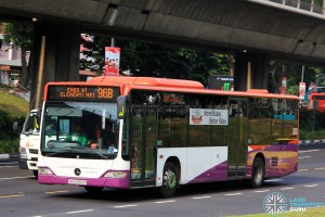 Tower Transit Mercedes-Benz Citaro (SBS6354R) - Service 96B
