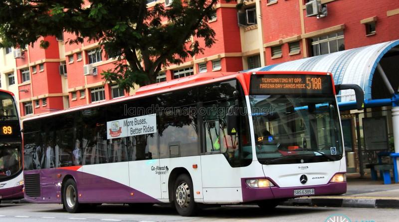 Go-Ahead Mercedes-Benz Citaro (SBS6385B) - Service 518A
