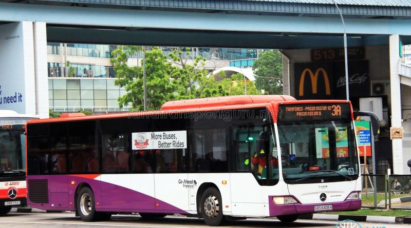 Go-Ahead Mercedes-Benz Citaro (SBS6406A) - Service 3A