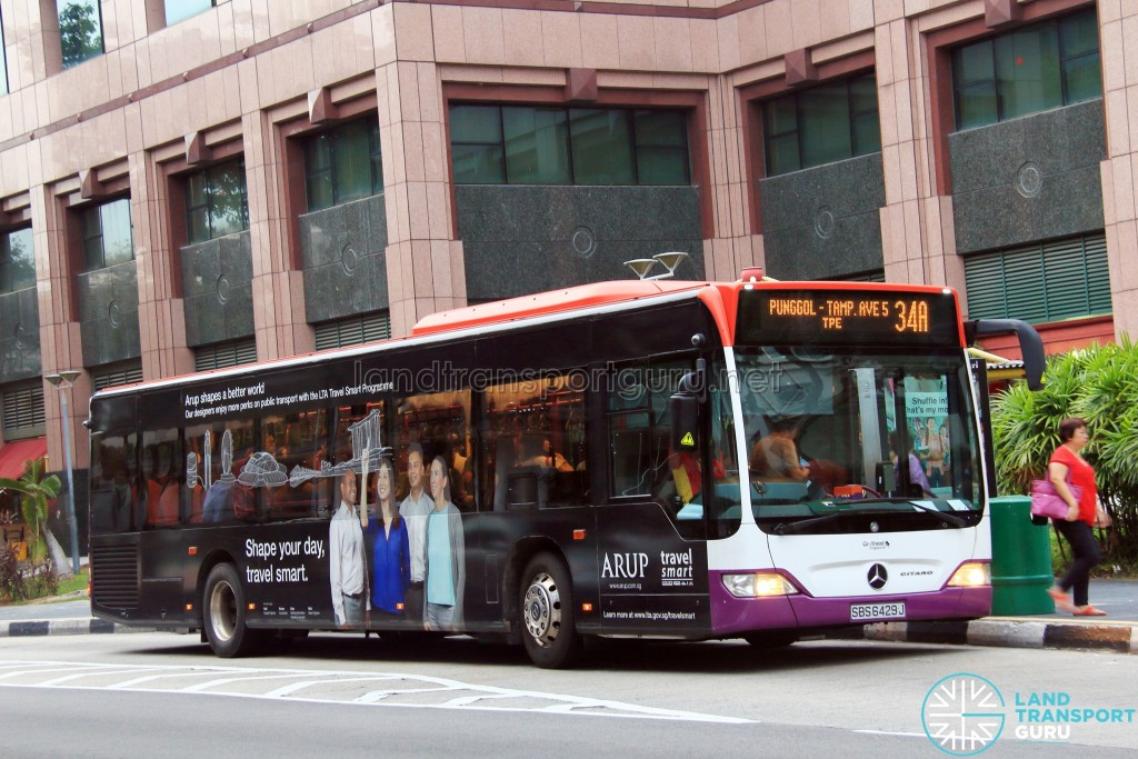 Go-Ahead Mercedes-Benz Citaro (SBS6429J) - Service 34A