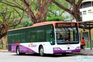 SBS Transit Mercedes-Benz Citaro (SBS6433X) - Service 121