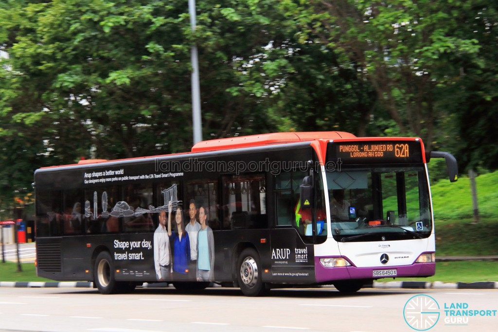 Go-Ahead Mercedes-Benz Citaro (SBS6450X) - Service 62A