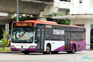Go-Ahead Mercedes-Benz Citaro (SBS6454K) - Service 15