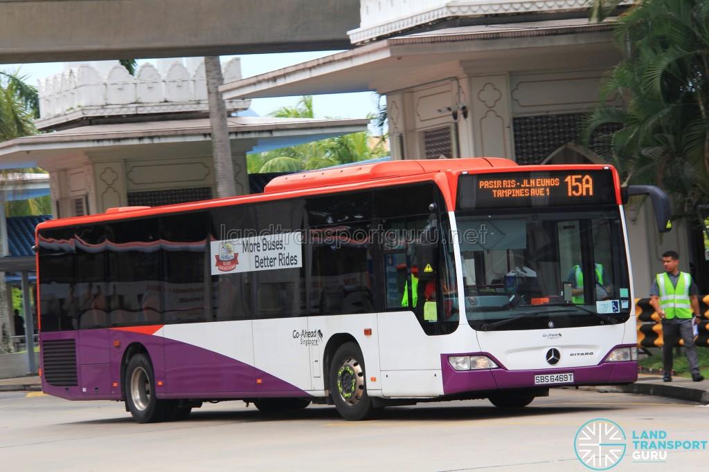 Go-Ahead Mercedes-Benz Citaro (SBS6469T) - Service 15A