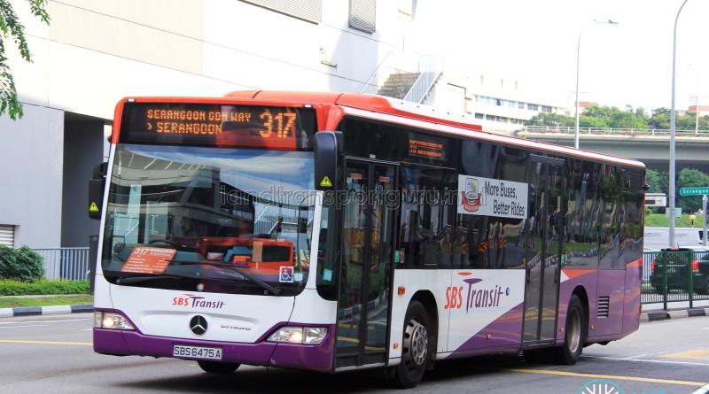 SBS Transit Mercedes-Benz Citaro (SBS6475A) - Service 317