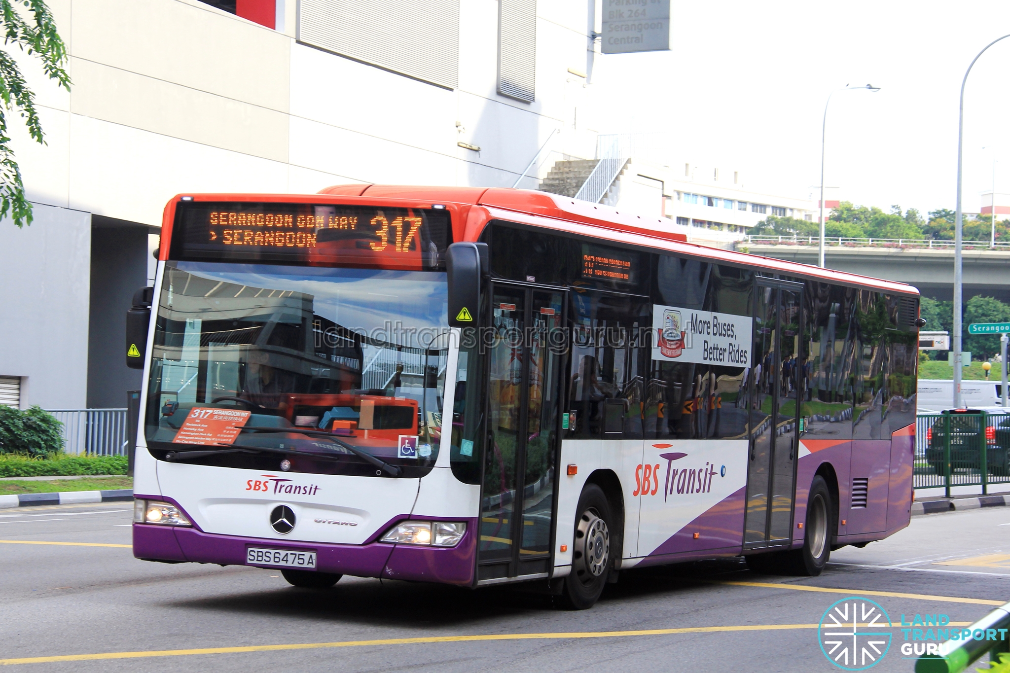 sbs transit feeder bus service 317 | land transport guru