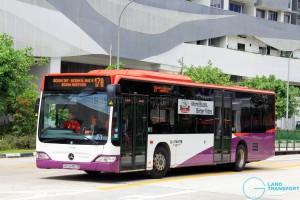 Go-Ahead Mercedes-Benz Citaro (SBS6487R) - Service 17A