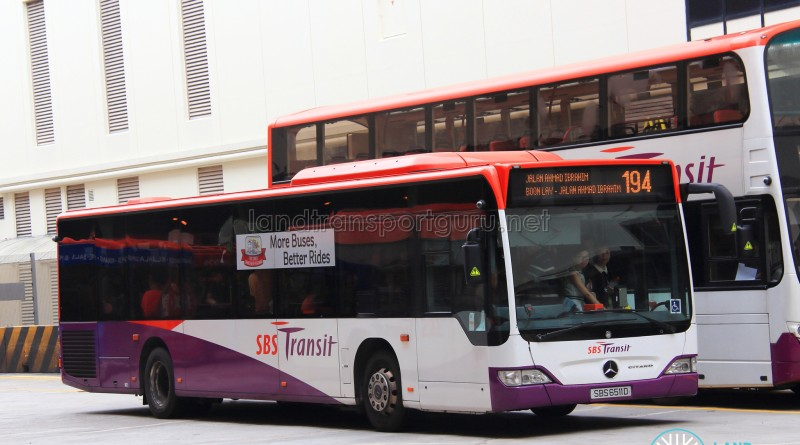 SBS Transit Mercedes-Benz Citaro (SBS6511D) - Service 194