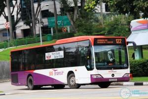 SBS Transit Mercedes-Benz Citaro (SBS6518K) - Service 122