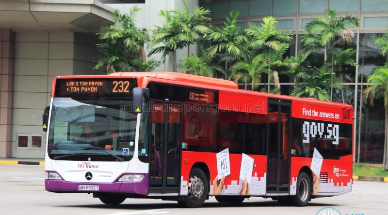 SBS Transit Mercedes-Benz Citaro (SBS6532T) - Service 232