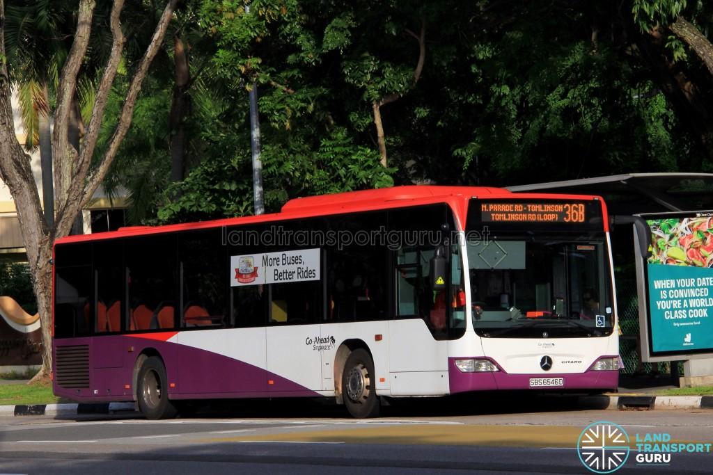 Go-Ahead Mercedes-Benz Citaro (SBS6546D) - Service 36B