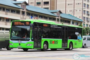 SBS Transit Mercedes-Benz Citaro (SBS6548Z) - Service 116