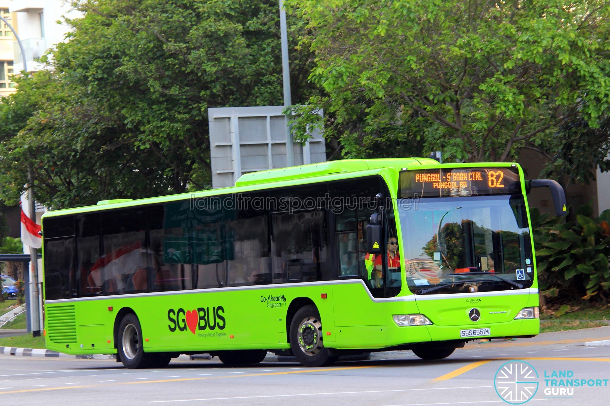 go-ahead bus service 82 | land transport guru