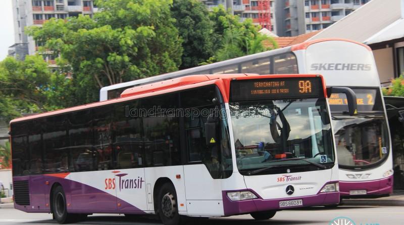 SBS Transit Mercedes-Benz Citaro (SBS6603Y) - Service 9A