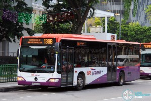 SBS Transit Mercedes-Benz Citaro (SBS6662B) - Service 138B