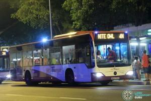 SBST Mercedes-Benz O530 Citaro (SBS6762X) - Nite Owl 4N