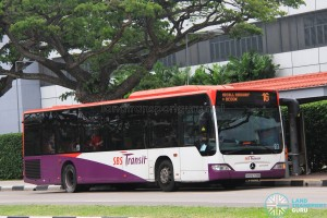 SBS Transit Mercedes-Benz Citaro (SBS6778B) - Service 16