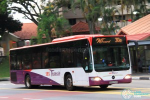 SBS Transit Mercedes-Benz Citaro (SBS6794D) - Service 30e