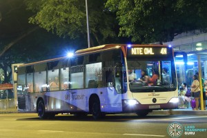 SBST Mercedes-Benz O530 Citaro (SBS6805G) - Nite Owl 4N