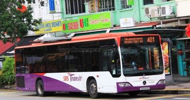 SBS Transit Mercedes-Benz Citaro (SBS6811M) - Service 401
