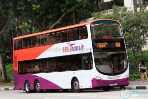SBS Transit Volvo B9TL Wright (SBS7H) - Service 69