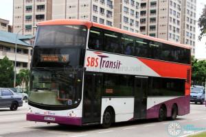 SBS Transit Volvo B9TL CDGE (SBS7443K) - Service 76