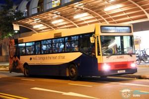 SMRT Mercedes-Benz O405 (TIB774H) - Tampines Retail Park shuttle
