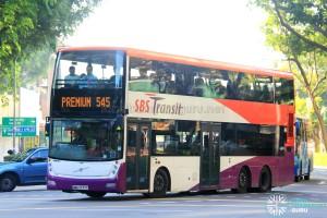 SBS Transit Volvo B9TL Gemilang (SBS7777Y) - Premium 545