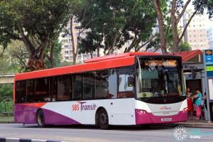 Service 268C - SBS Transit Scania K230UB (SBS8119R)