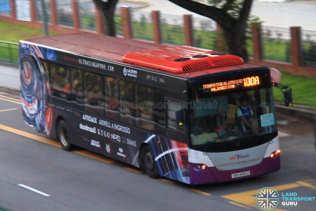 SBS Transit Scania K230UB (SBS8150Z) - Service 100A