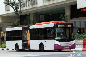SBS Transit Scania K230UB (SBS8321Y) - Express Service 513