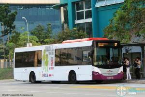 SBST Scania K230UB (SBS8330X) - Service 17