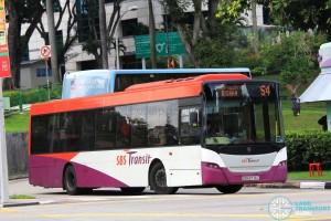 SBS Transit Scania K230UB Euro V (SBS8776T) - Service 54