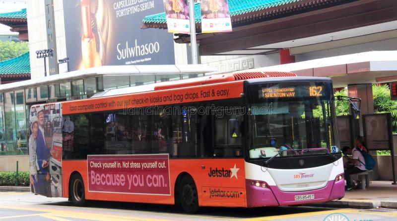 SBS Transit Scania K230UB Euro IV (SBS8545T) - Service 162