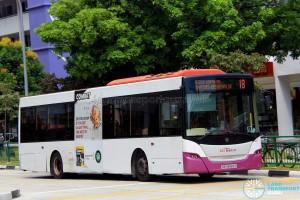 SBS Transit Scania K230UB (SBS8589S) - Service 18