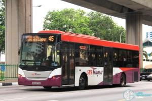 SBS Transit Scania K230UB Euro V (SBS8630E) - Service 45