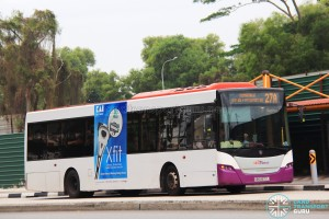 SBS Transit Scania K230UB Euro V (SBS8672J) - Service 27A