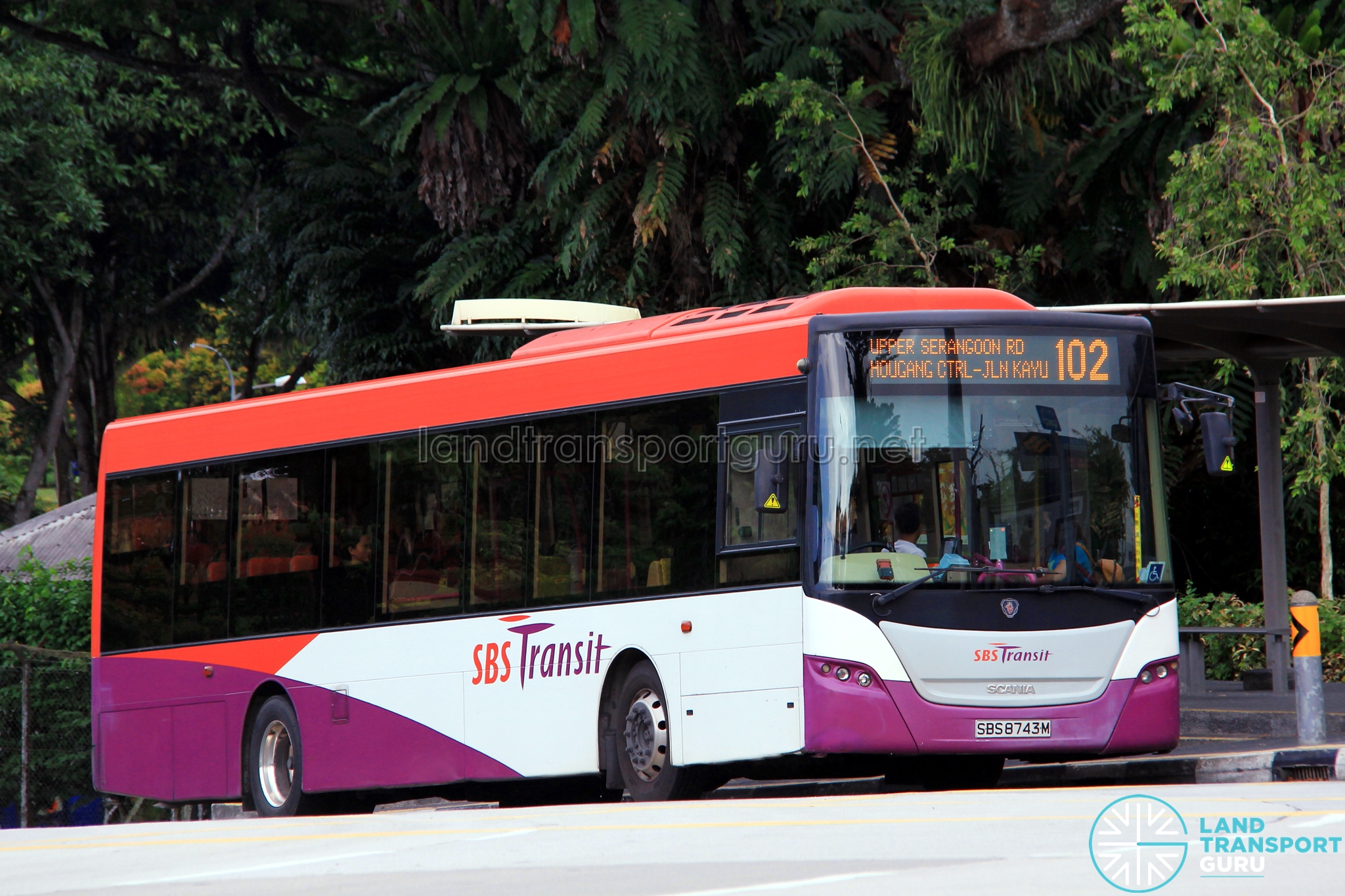 Route Extension of Bus Service 102 to Seletar Airport | Land