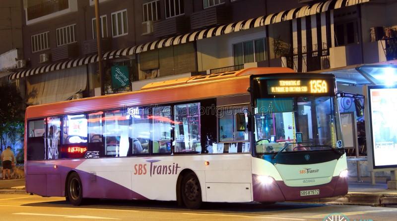 SBS Transit Scania K230UB Euro V (SBS8757Z) - Service 135A