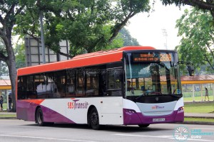 Service 268B - SBS Transit Scania K230UB (SBS8897C)