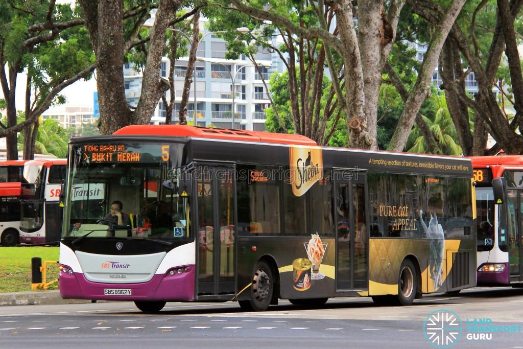 SBS Transit Scania K230UB (SBS8962Y) - Service 5