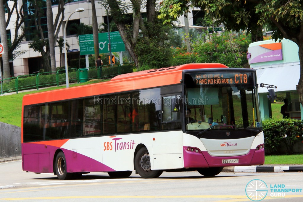 SBS Transit Scania K230UB Euro V (SBS8982P) - Chinatown Direct CT8