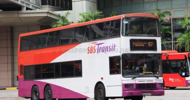SBS Transit Volvo Olympian 12m (SBS9642P) - Service 157