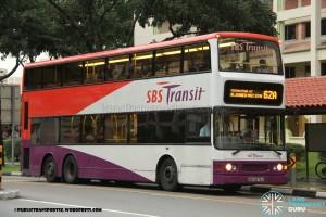 SBST Dennis Trident (SBS9679J) - Service 62A