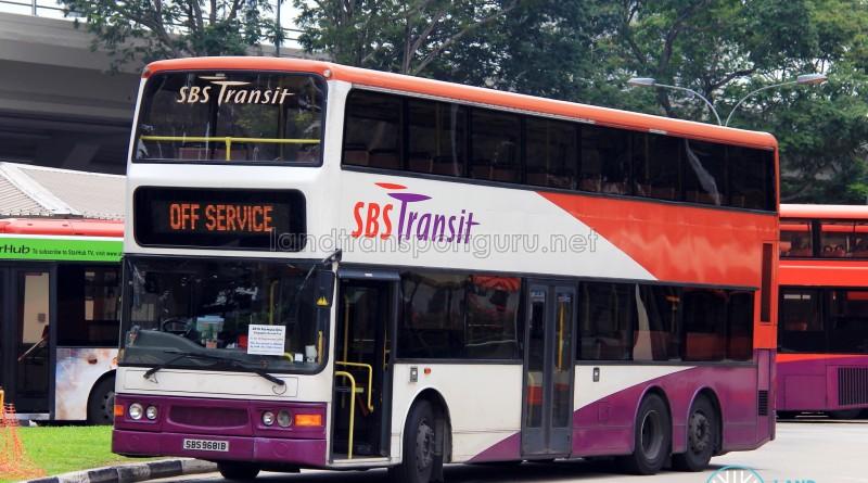 SBS Transit Dennis Trident (SBS9681B) - Off Service