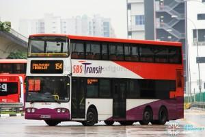 SBS Transit Volvo B10TL (SBS9800A) - Service 154