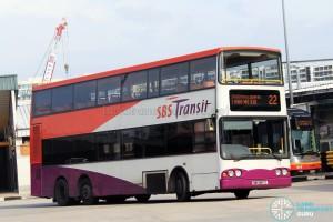 SBS Transit Volvo B10TL (SBS9817C) - Service 22