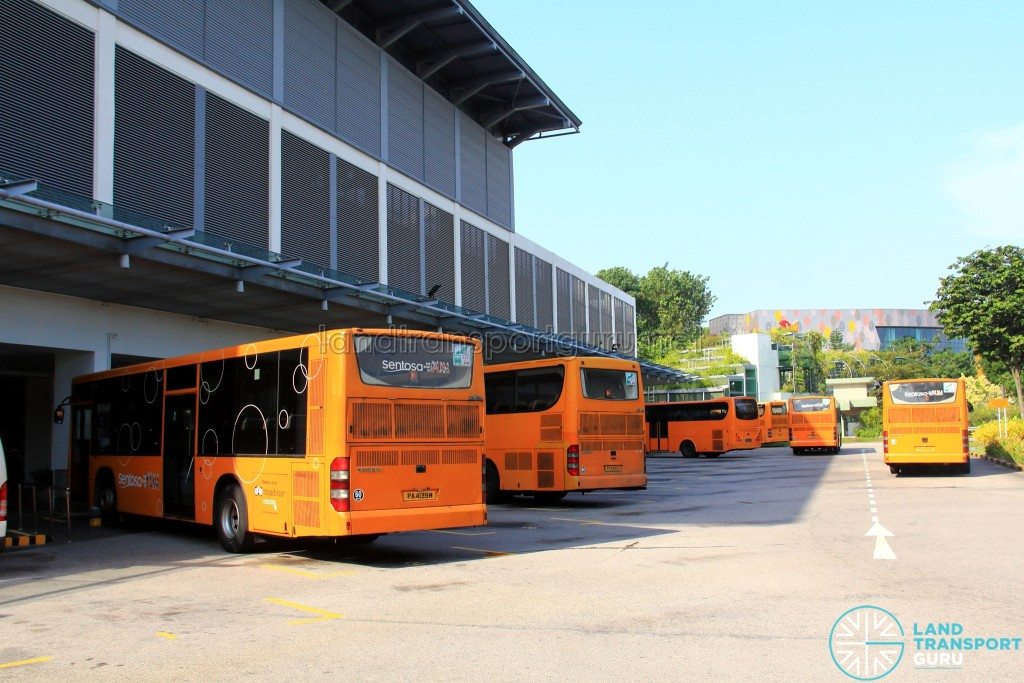 Beach Station Transfer Hub - Bus Terminal