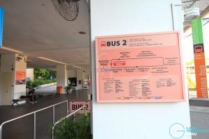 Beach Station Transfer Hub - Bus 2 details