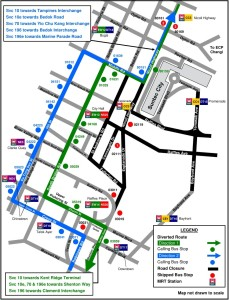 Formula 1 Singapore Grand Prix 2017 – Bus Diversions and Public ...